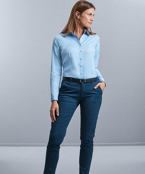 Women's L/S Herringbone Shirt