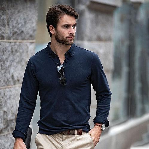 Men's Carlington Long Sleeve Polo