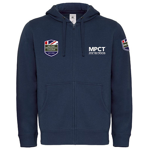Personalised Hooded Full Zip (MPC)