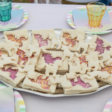 Unicorn sandwiches