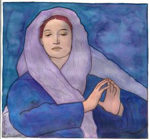 Treurende Maria Magdalena 5