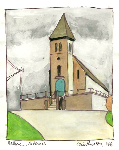 Nettine. Ardennes
