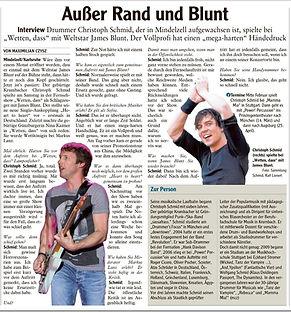 James Blunt Drummer Schlagzeuger James Blunt Wetten dass ZDF Musik