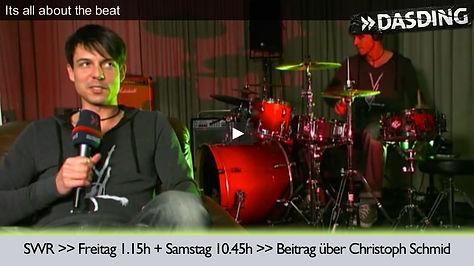 Christoph Schmid Drummer München Schlagzeuger für Event buchen