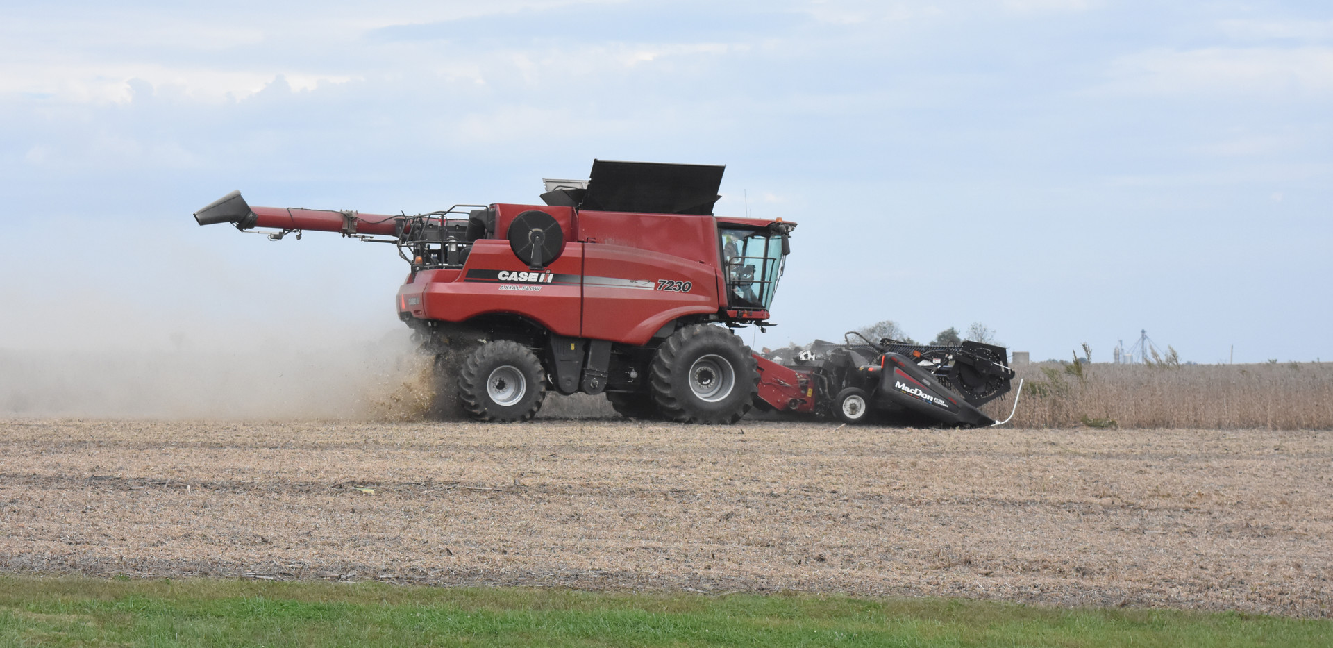 Combine during Harvest, Knox County.jpg