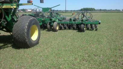 2019 planting into frost seeded cereal r