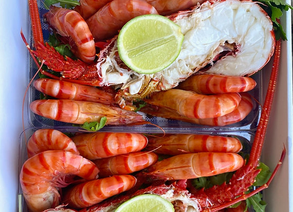 Deluxe Lobster & Prawn Pack