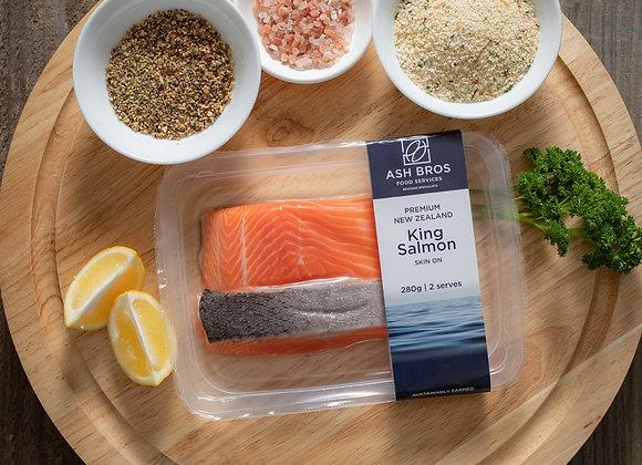 New Zealand King Salmon Portions FRESH