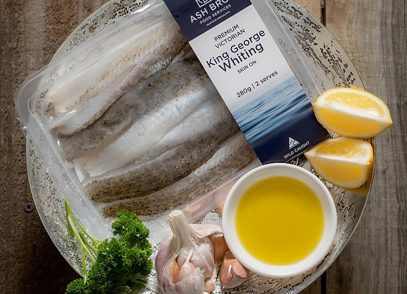 South Australian King George Whiting Fillets FRESH