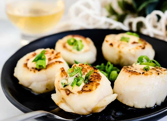 Japanese Scallops Roe Off FROZEN