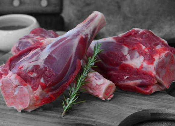 Australian Grass Fed Raw Lamb Shanks Hind Quarter FROZEN