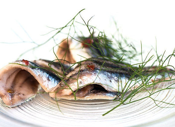 Italian Marinated Anchovies Pack CHILLED