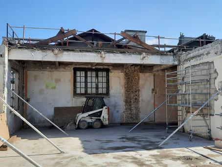 Début de chantier pour la rue Lemaître