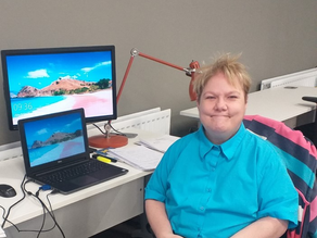 Mission accomplished – supporting Annmarie back into office life