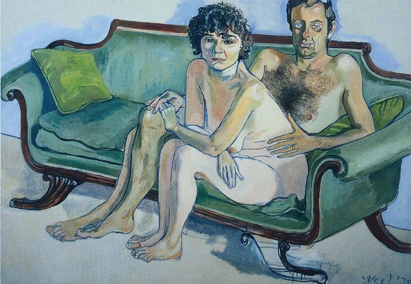 Posing nude for Alice Neel