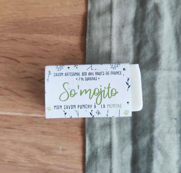"""SAVON SURGRAS """"So'Mojito""""- peaux mixtes"""