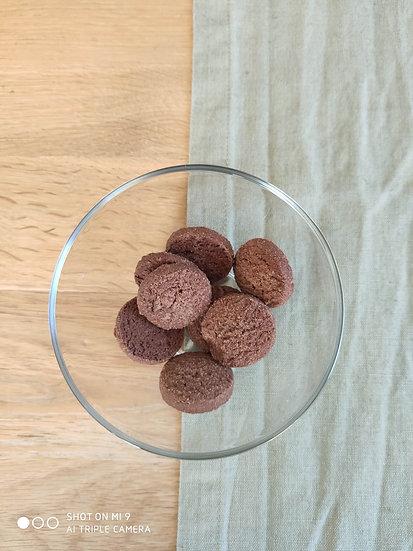 SABLES CHOCOLAT à la fleur de sel de Guérande
