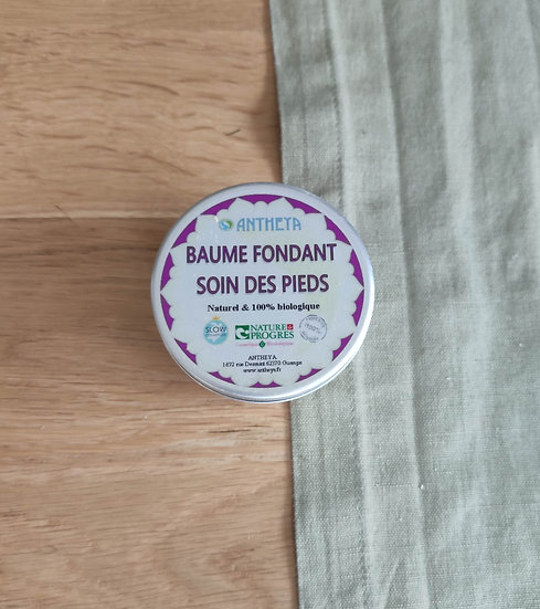 "BAUME FONDANT soin des pieds ""ANTHEYA"""