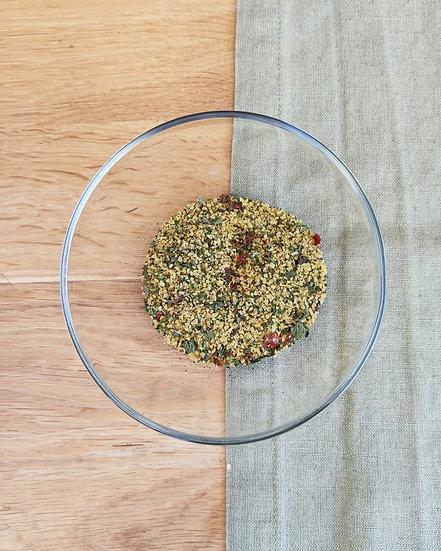 TABOULE DE BOULGOUR poivrons, menthe et citron