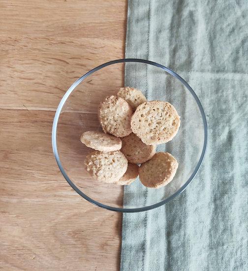 "Biscuits Noix de coco ""Croquelicot"""