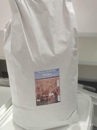 Sac 5 kg de farine blanche