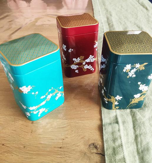 Boîte à thé 100 g Japon
