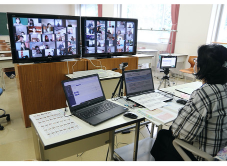 コロナ禍で学びを止めない一心で取り組んだ看護系学校のスマホと動画の活用事例(富士市立看護専門学校様 Cラーニング導入事例)