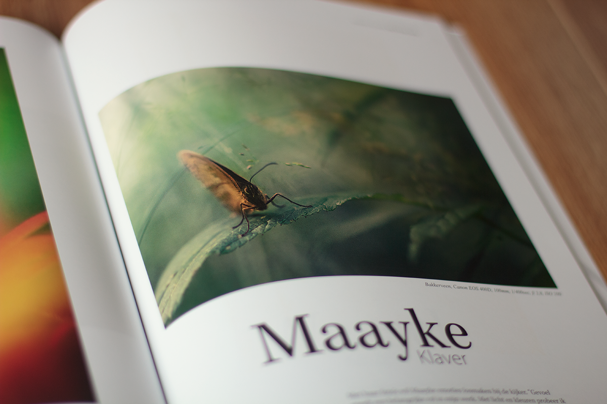 Publicatie in FOTOgrafie Magazine