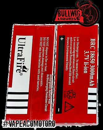 18650 Wrap UltraFire 3000 para Baterías