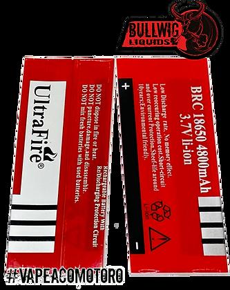 18650 Wrap UltraFire 4800 para Baterías