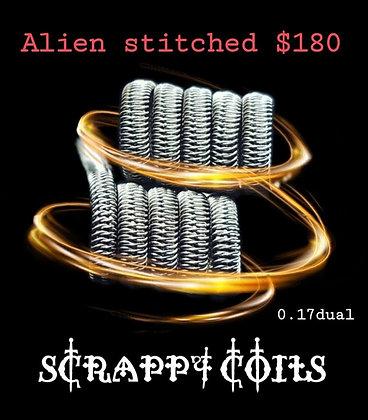 Scrappy Coils - Alien Stitched
