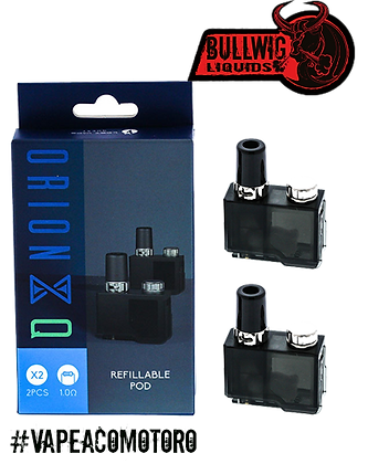Lost Vape Orion Q Replacement Pods (2 Pods)