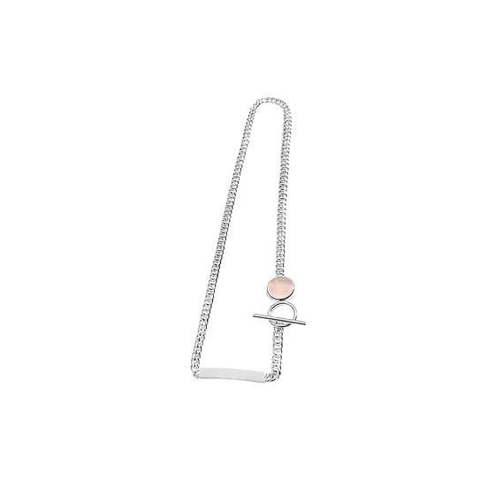 Story Choker Necklace with Personalized Crystal