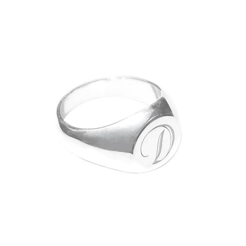 Signet Ring - Round