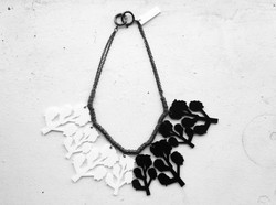Red Tree Necklace