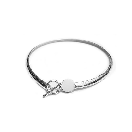 Wide Strap Necklace