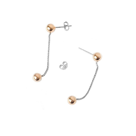 Double Sphere Earring
