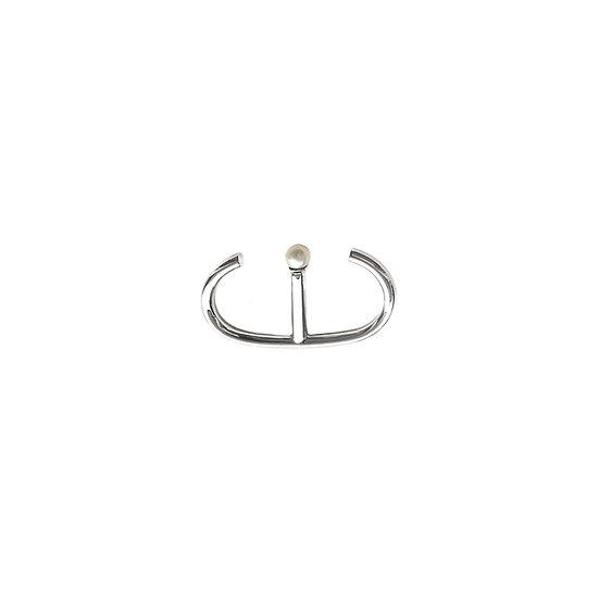 04:00 Double Ring & Stud Earrings