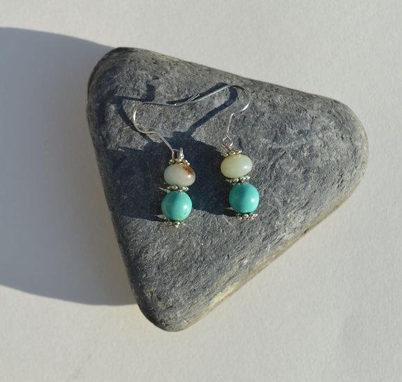 Amazon Turquoise Earrings