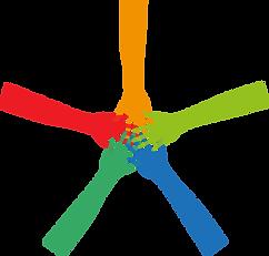 Ilustración de manos unidas