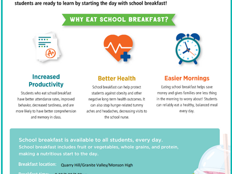 Start the School Day with Breakfast!