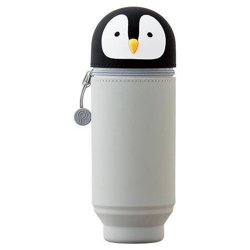Пенал тубус большой - Пингвинчик, вместимость 22 карандаша