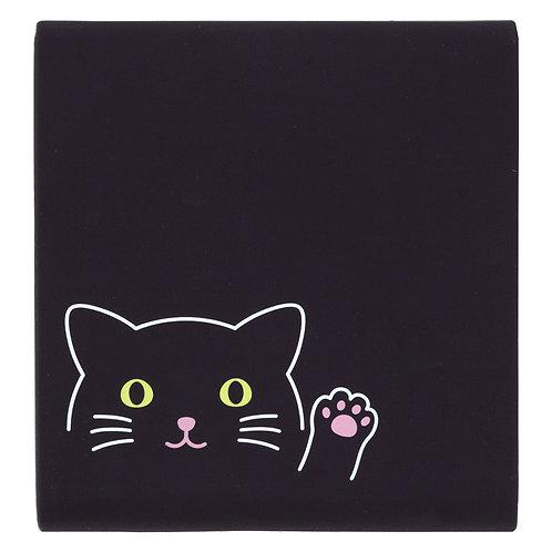 Кейс для записей - Черный котик