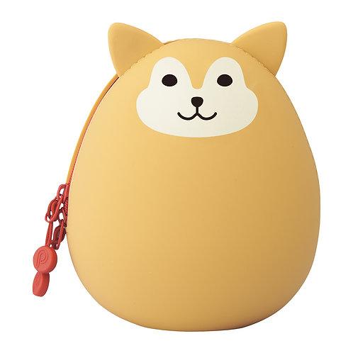 """Пенал большое яйцо """"Песик Сиба"""""""