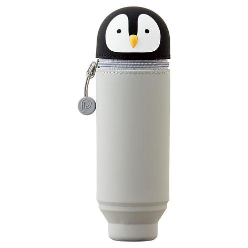 Пенал тубус малый - Пингвин, вместимость 15 карандашей
