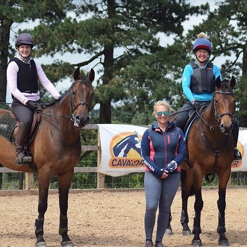 Gemma Tattersall & Holly Woodhead Event Camp