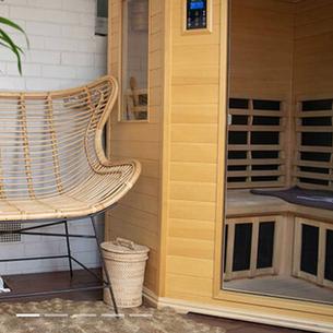 Private Infrared Sauna Session