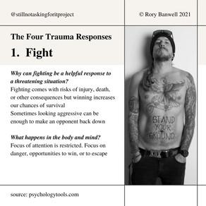The four trauma responses