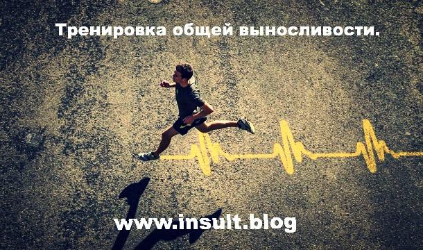 Инсульт Блог. Тренировка общей выносливости.