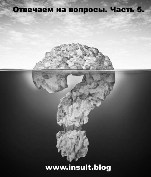 Инсульт Блог. Отвечаем на вопросы про восстановление после инсульта. Часть 5.